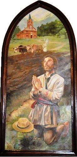 Obraz św. Izydora