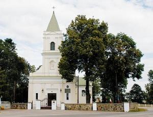 kościół w Klembowie