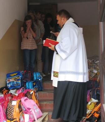 Caritas-plecaki